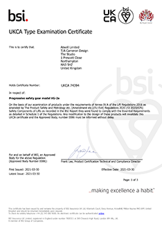 VG2A UKCA certificate